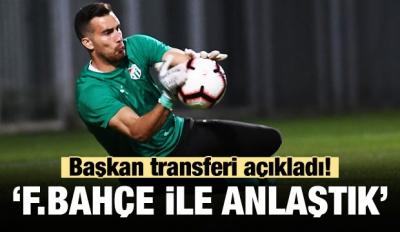 Başkan Transferi Açıkladı! 'Fenerbahçe İle Anlaştık'