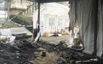 Belçika'da Yaşayan Türkler, PKK Çadırını Yaktı