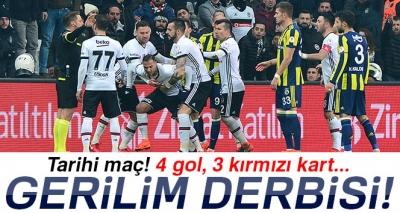 Beşiktaş 2-2 Fenerbahçe (Maç Sonucu)