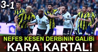 Beşiktaş 3-1 Fenerbahçe (Maç Sonucu)
