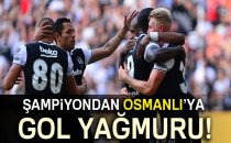 Beşiktaş 4-0 Osmanlıspor (Maç Sonucu)