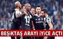 Beşiktaş Arayı Açtı, Düşme Hattı Yangın Yerine Döndü