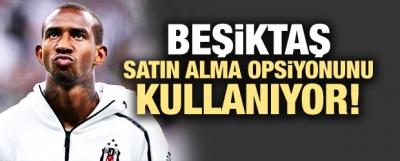 Beşiktaş satın alma opsiyonunu kullanıyor!