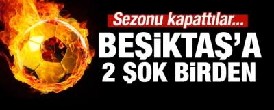 Beşiktaş'ta Deprem! 2 İsim Birden...