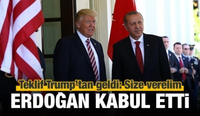 Bozdağ: Teklif Trump'tan geldi, Erdoğan kabul etti