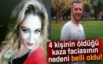 Bursa'da 4 Kişinin Öldüğü Kaza Faciasından Alkol Çıktı!