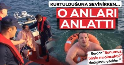 Bursa'da Denizde Kaybolduktan 12 Saat Sonra Sağ Bulundu!