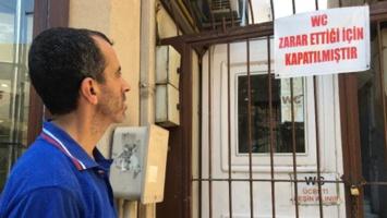 Bursa'da ilginç olay! Tuvalet iflas etti görenler şaştı kaldı