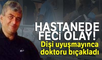 Bursa'da İnanılmaz Olay! Dişi Uyuşmayınca Doktoru Bıçakladı!