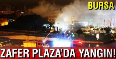 Bursa'da Zafer Plaza'da Yangın Paniği!
