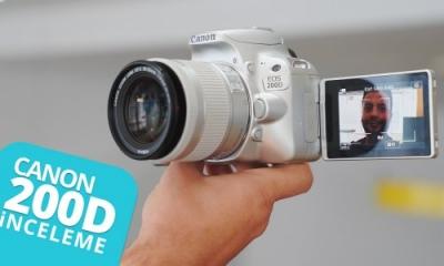 Canon 200D inceleme! - YouTuber olmak isteyenler kaçırmasın!