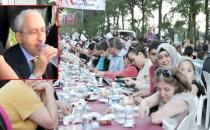 CHP İstanbul İl Başkanlığı'nın İftarında Skandal!