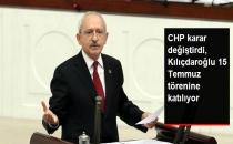 CHP, Meclis'te Gece Düzenlenecek 15 Temmuz Törenine Katılacak