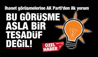 CHP ve HDP görüşmesine AK Parti'den ilk yorum