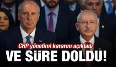 CHP Yönetimi 'Kurultay Yok' Dedi