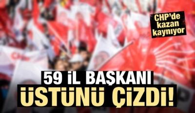 CHP'de kaos! 59 il başkanı desteğini açıkladı