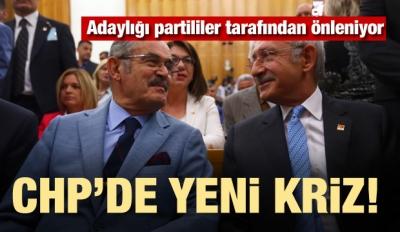 CHP'de yeni kriz! Adaylığı önleniyor