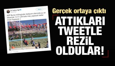 CHP'li vekil Erdoğan tweetiyle rezil oldu