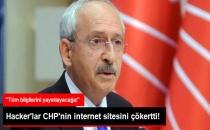 CHP'nin İnternet Sitesine Siber Saldırı