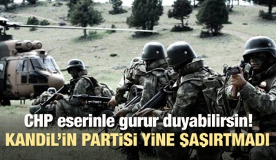 CHP'nin Meclis'e taşıdığı HDP yine şaşırtmadı