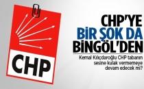 CHP'ye bir şok da Bingöl'den geldi