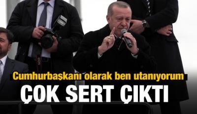 Cumhurbaşkanı Erdoğan'dan CHP'ye sert sözler...