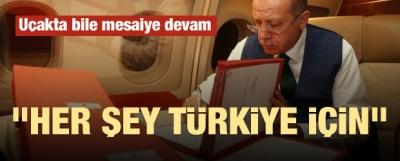Cumhurbaşkanı Erdoğan'ın yoğun mesaisi