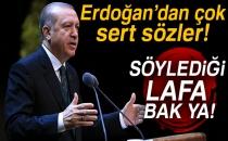 Cumhurbaşkanı Erdoğan, Kılıçdaroğlu'na sert çıktı!