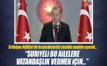 Cumhurbaşkanı Erdoğan Külliye'de Kaymakamlara Hitap Etti