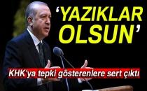 Cumhurbaşkanı Erdoğan'dan KHK'yı Eleştirenlere Sert Cevap