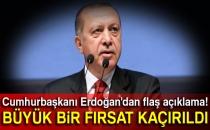 Cumhurbaşkanı Erdoğan'dan Kıbrıs Yorumu!
