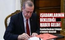 Cumhurbaşkanı Erdoğan'ın Onayladığı Kanun Resmi Gazete'de