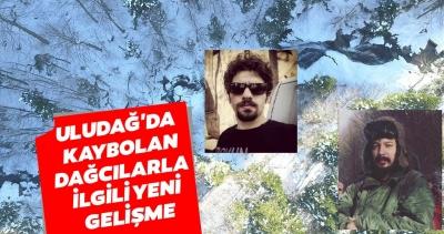 Bursa Uludağ'da Dağcıların Kaybolduğu Bölgede 1 Ceset Bulundu!