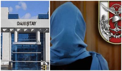 Danıştay'dan 'TSK'da türban' kararı: 1'e karşı 4 oyla reddedildi