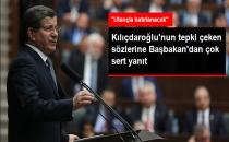 Davutoğlu: Kılıçdaroğlu'nun Sözleri Utançla Hatırlanacak