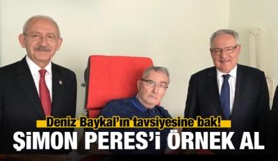 Deniz Baykal'ın Tavsiyesi: Şimon Peres'i Örnek Al...
