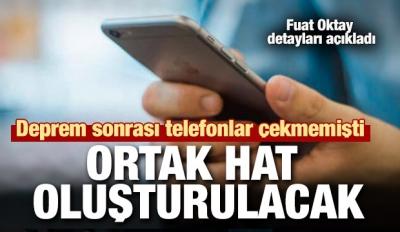 Deprem sonrası telefonlar çekmemişti... Oktay'dan GSM açıklaması