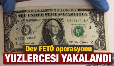 Dev FETÖ operasyonu: Yüzlercesi yakalandı