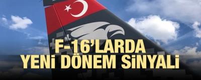 Dijital kamuflaj F-16'da denenecek