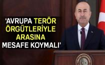 Dışişleri Bakanı Mevlüt Çavuşoğlu: Avrupa Terör Örgütleriyle Arasına Mesafe Koymalı