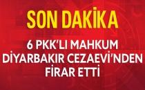 Diyarbakır Cezaevi'nden 6 PKK'lı Firar Etti