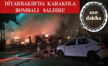 Son Dakika: Diyarbakır'da Karakola Bombalı Saldırı!