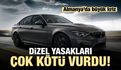 Dizel Yasakları BMW'yi Kötü Vurdu!