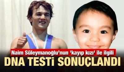 DNA testi sonuçlandı! Mori, Süleymanoğlu'nun kızı