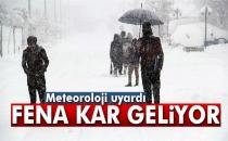 Doğu Karadeniz İçin Yoğun Kar Yağışı Uyarısı