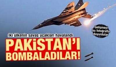 Dünya diken üstünde! Hindistan Pakistan'ı vurdu, Pakistan cevap verdi