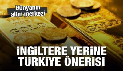 Dünyanın altın merkezi Türkiye olabilir
