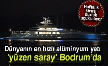 Dünyanın En Hızlı Alüminyum Yatı 'Yüzen Saray' Bodrum'da