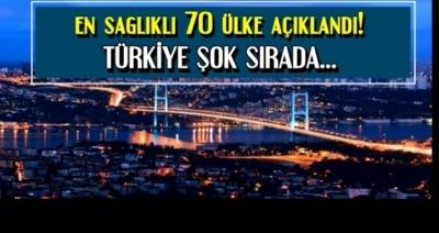 Dünyanın En Sağlıklı Ülkesi İspanya, Türkiye Alt Sıralarda...