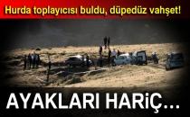 Elazığ'da Vahşet! Yakılmış Erkek Cesedi Bulundu